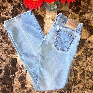 Retro Levi's 518 Super Low Stretch Bootcut Jeans